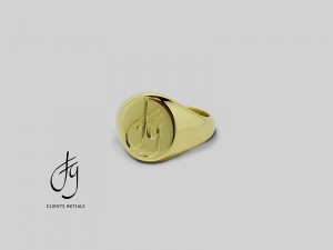 Custom Signet Ring 7